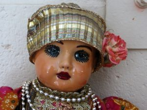 Attic Doll Close-Up