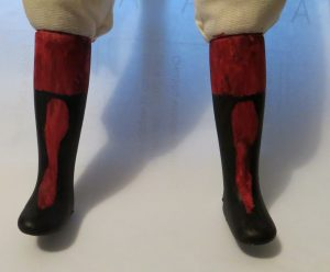 Workshop Participant's Doll Legs - so far!!