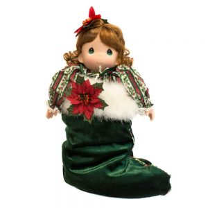 Doll in Christmas Stocking