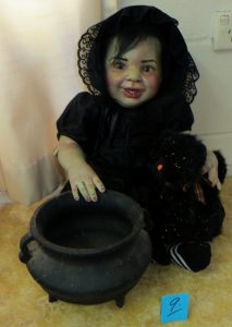 Baby Witchy Cauldron