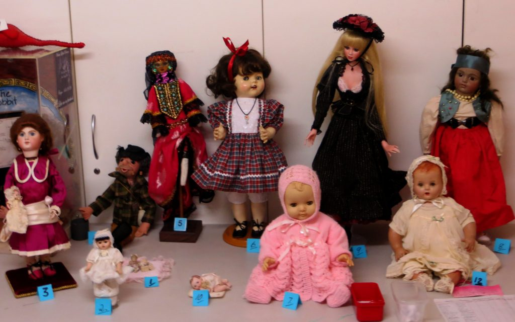 Favourite Doll Competition Entries