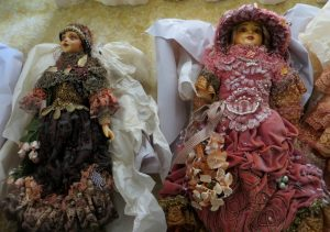 2 of the Attic Dolls for sale