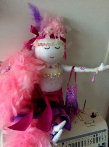 Pink & Purple Dambi Doll