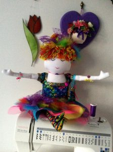 Dambi Doll 'Rainbow'