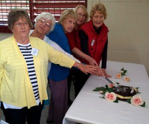 Birthday Cake - longest serving Members